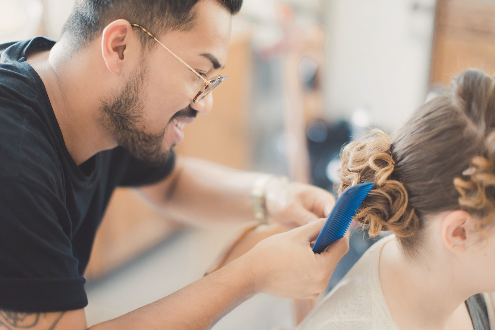 Coiffeur maquillage mariage geneve